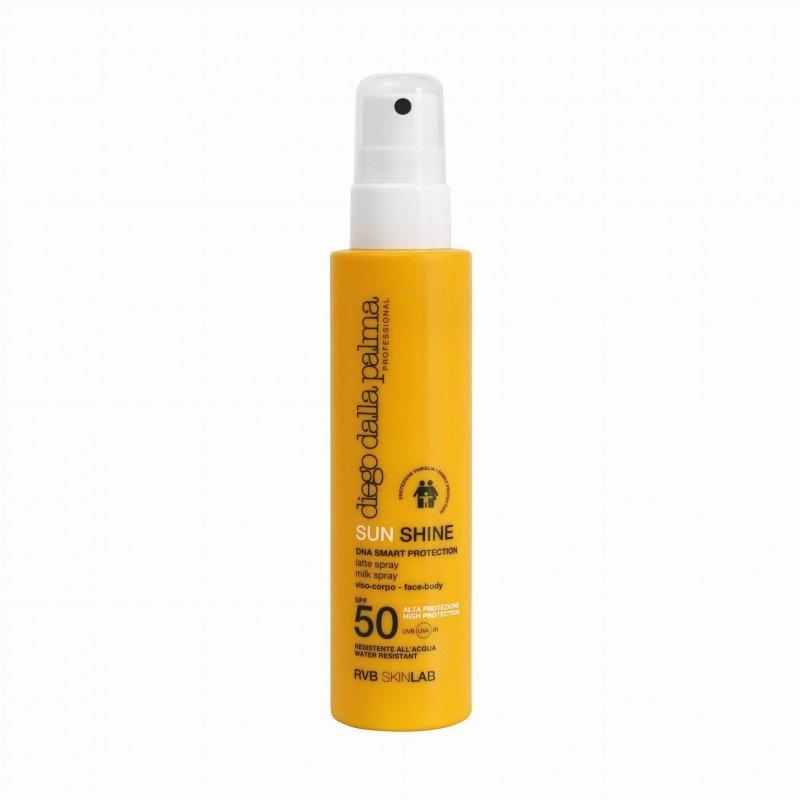 SUN SHINE Mleczko w sprayu dla skór wrażliwych  SPF50